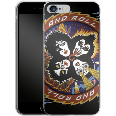 Apple iPhone 6s Plus Silikon Handyhuelle - Rock And Roll Over von KISS®