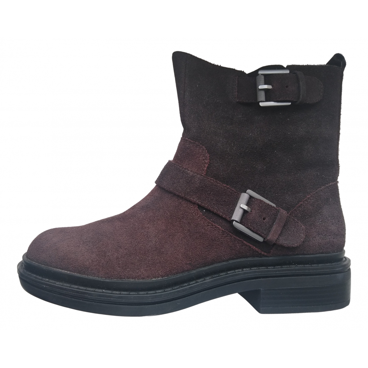 Calvin Klein N Brown Suede Ankle boots for Women 40 EU