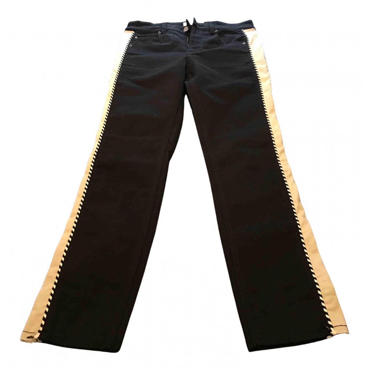 Isabel Marant Etoile N Black Cotton - elasthane Jeans for Women 36 FR
