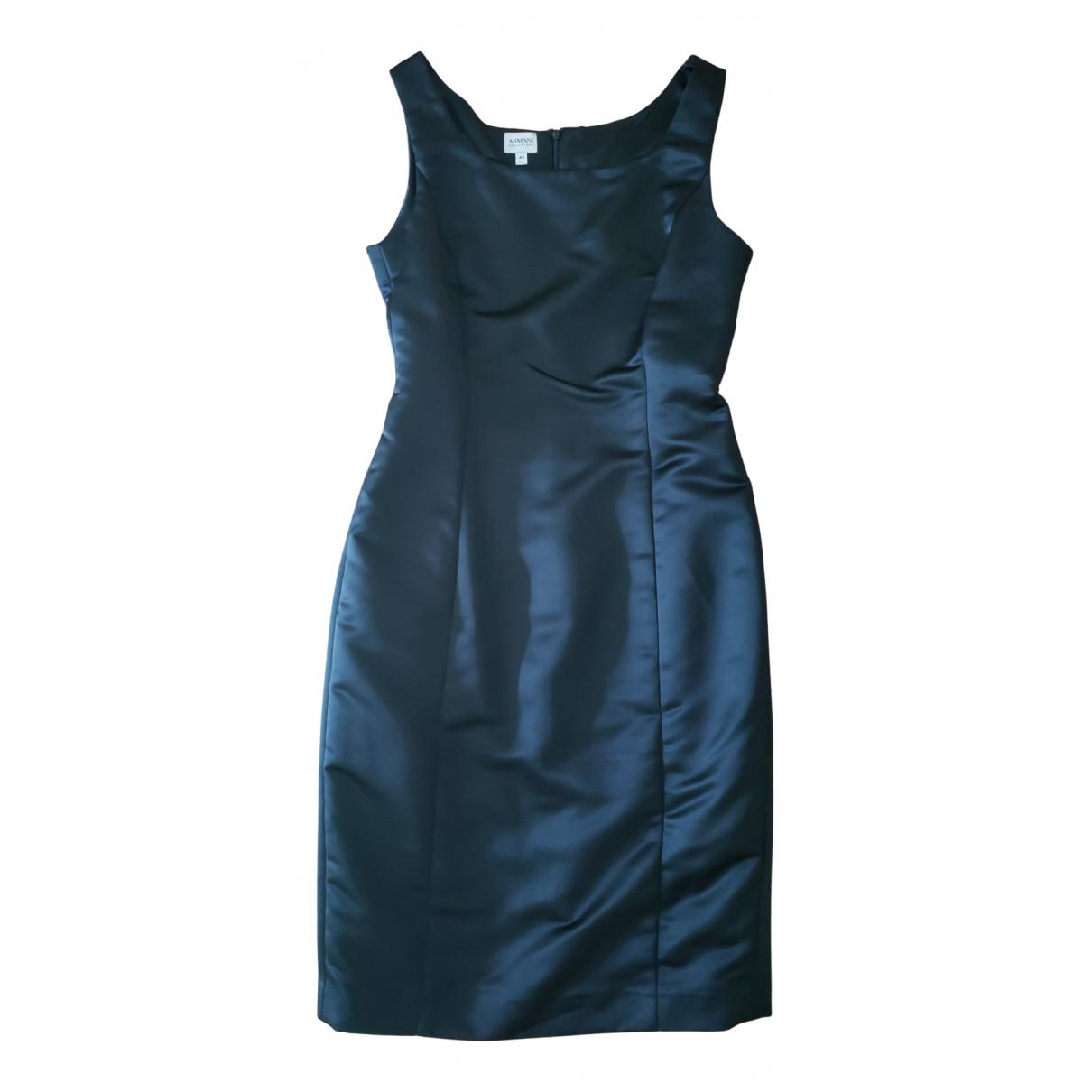 Armani Collezioni \N Kleid in  Schwarz Polyester