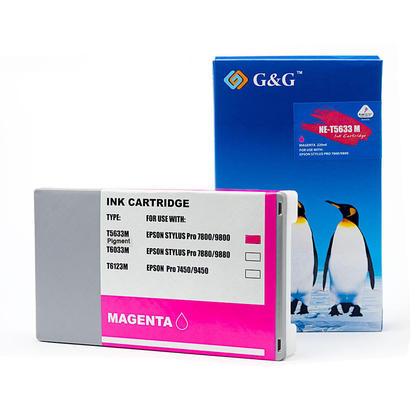 Epson T563300 T562300 cartouche d'encre compatible magenta pigment - G&G™