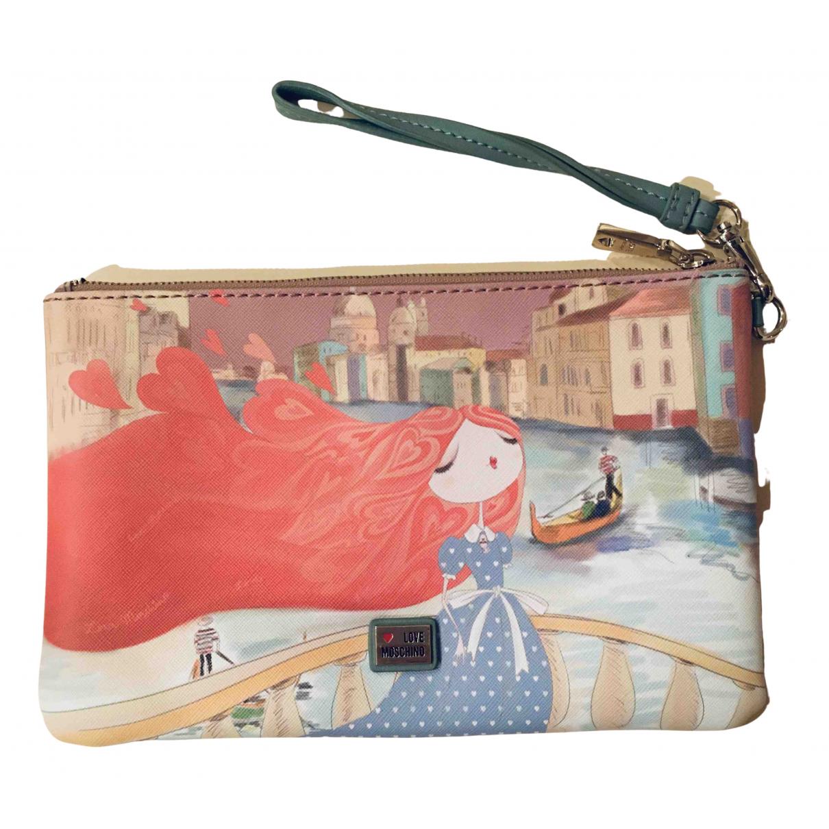 Bolsos clutch en Sintetico Multicolor Moschino Love