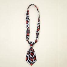 Leopard Dog Necktie