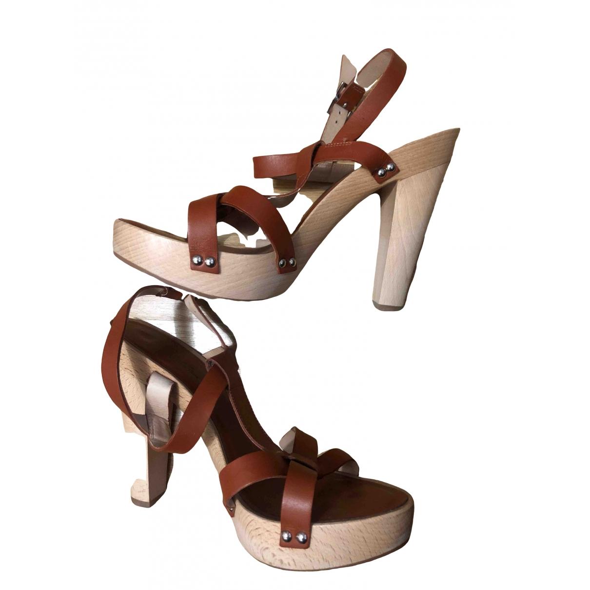 Sandalias de Cuero Apc