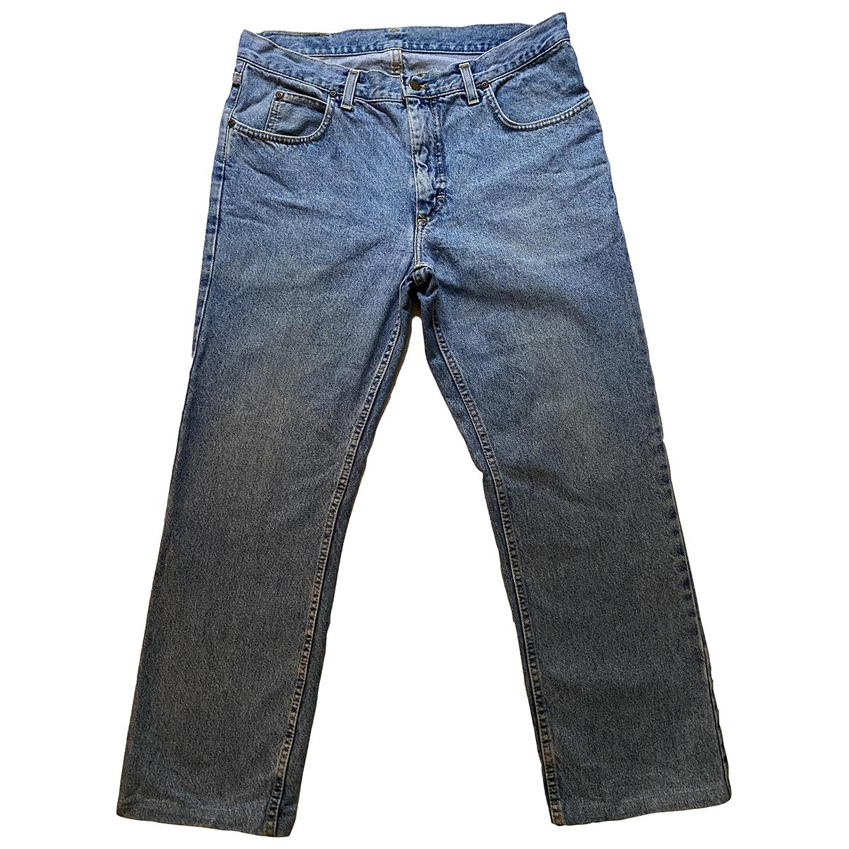 Lee \N Blue Cotton Jeans for Women 34 US