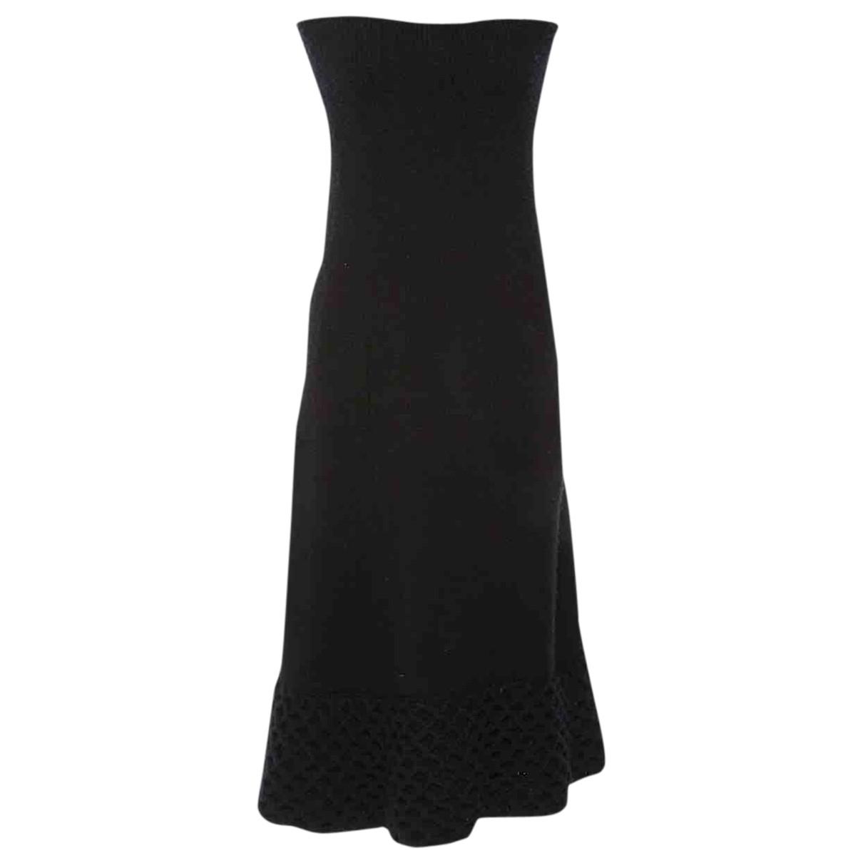 Junya Watanabe \N Black Wool skirt for Women 40 FR