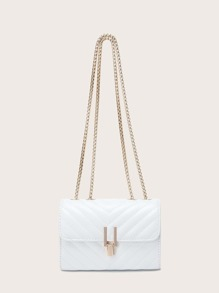 Chevron Shoulder Bag