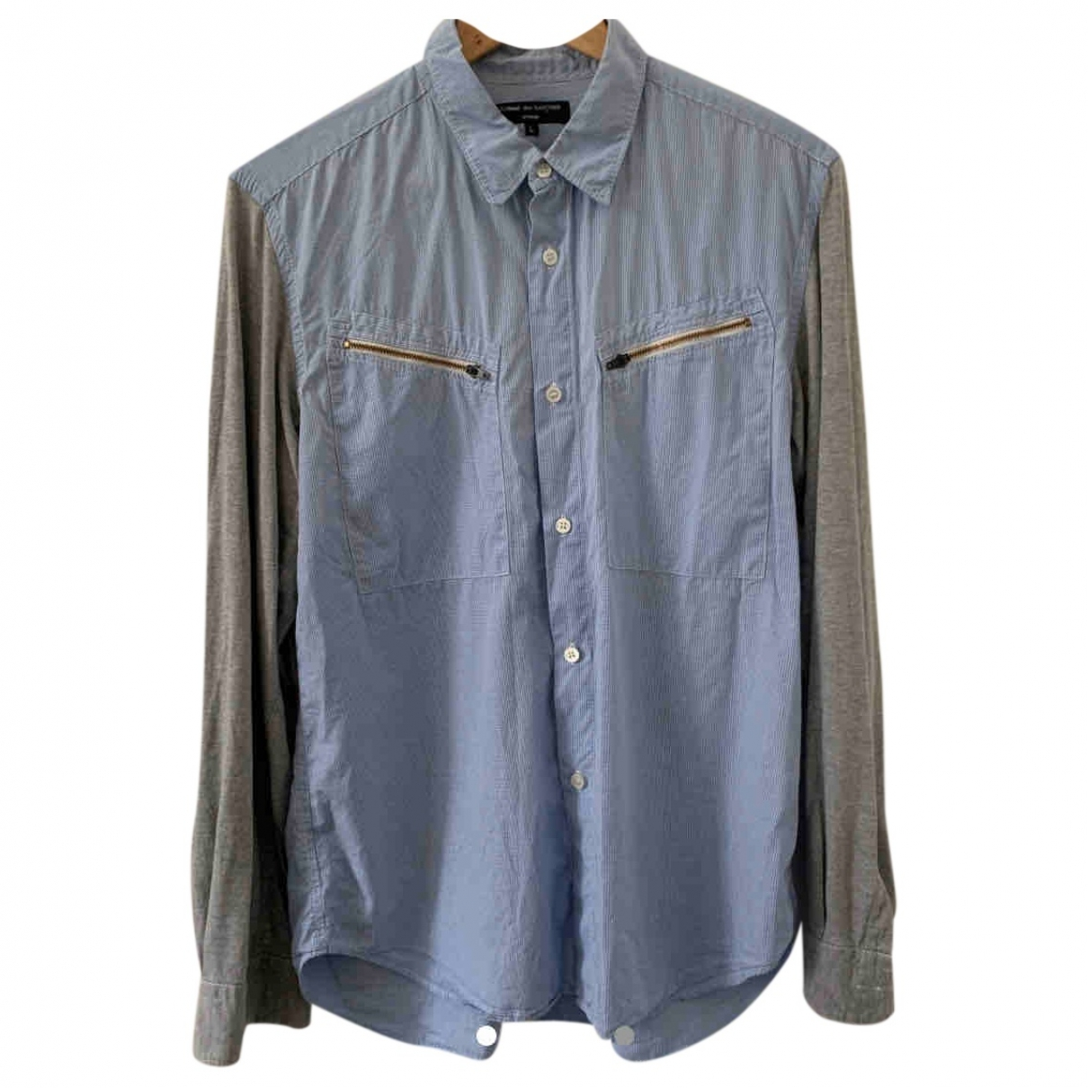 Comme Des Garcons \N Blue Cotton Shirts for Men L International