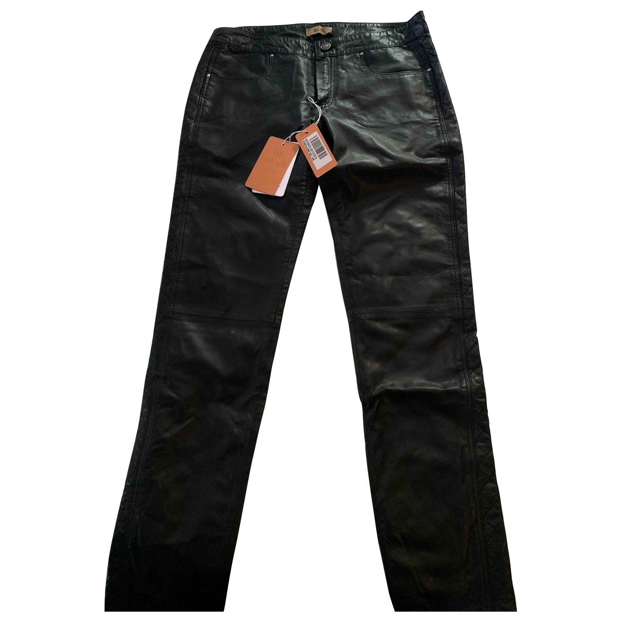Pantalon pitillo de Cuero Bel Air