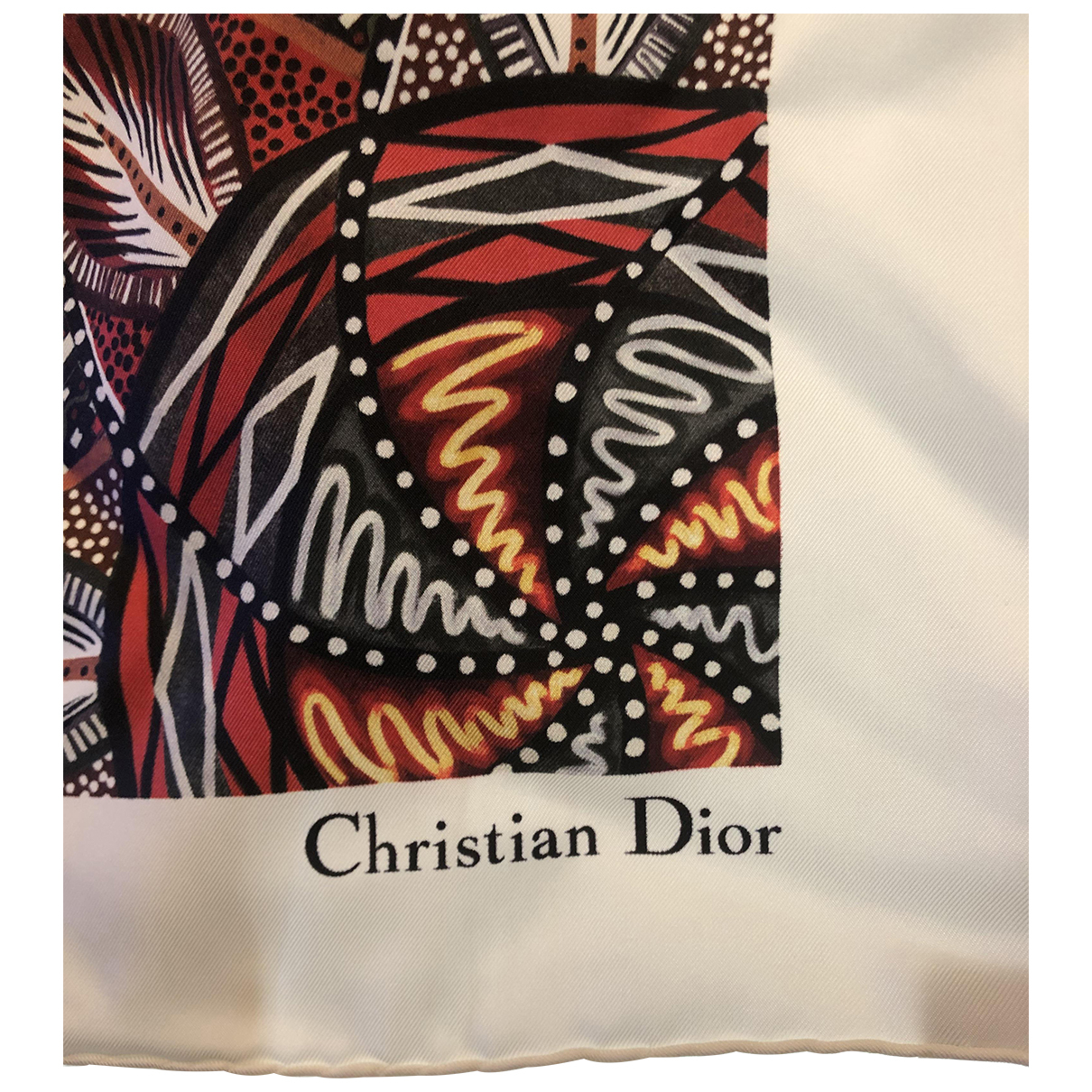 Dior \N Tuecher in  Bunt Seide