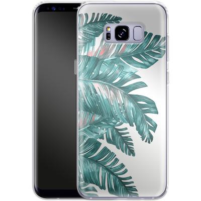 Samsung Galaxy S8 Plus Silikon Handyhuelle - Tropical Blue von Mark Ashkenazi