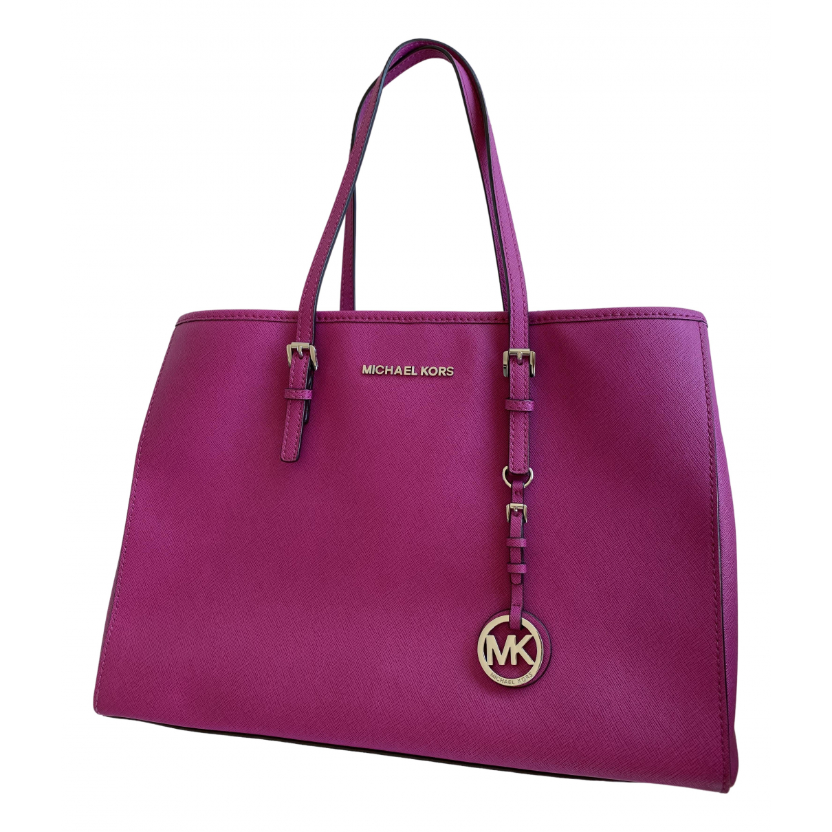 Michael Kors Jet Set Pink Leather handbag for Women \N