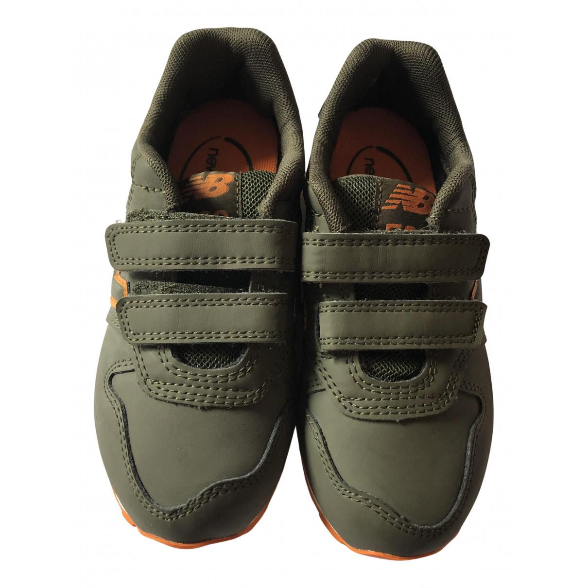 New Balance \N Sneakers in  Gruen Leinen