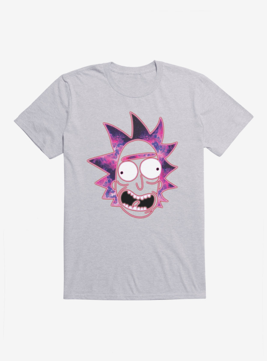Rick And Morty Space Portrait Rick T-Shirt