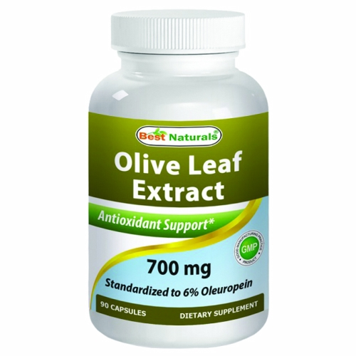 Olive Leaf Extract 90 Caps by Best Naturals