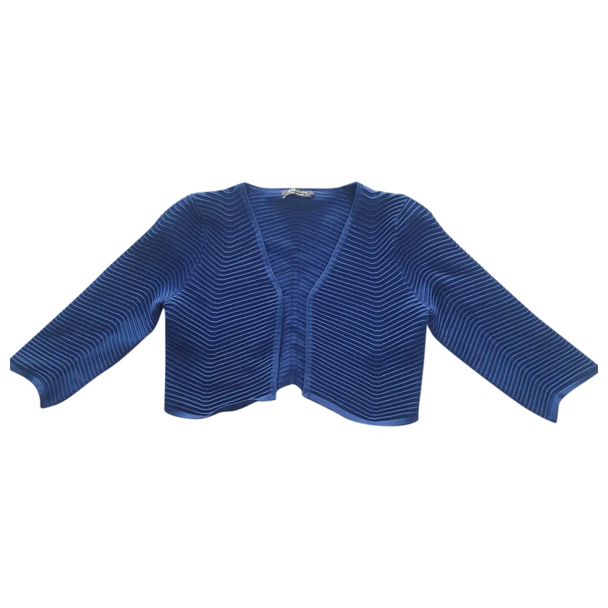 Non Signe / Unsigned \N Pullover in  Blau Viskose