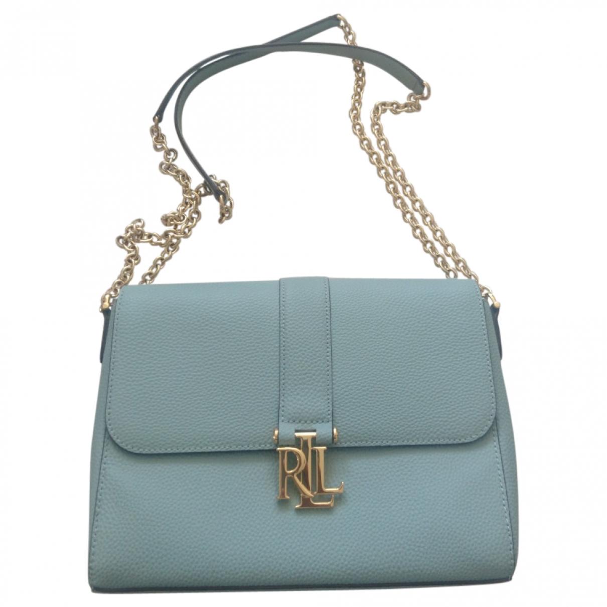 Lauren Ralph Lauren \N Handtasche in  Blau Leder