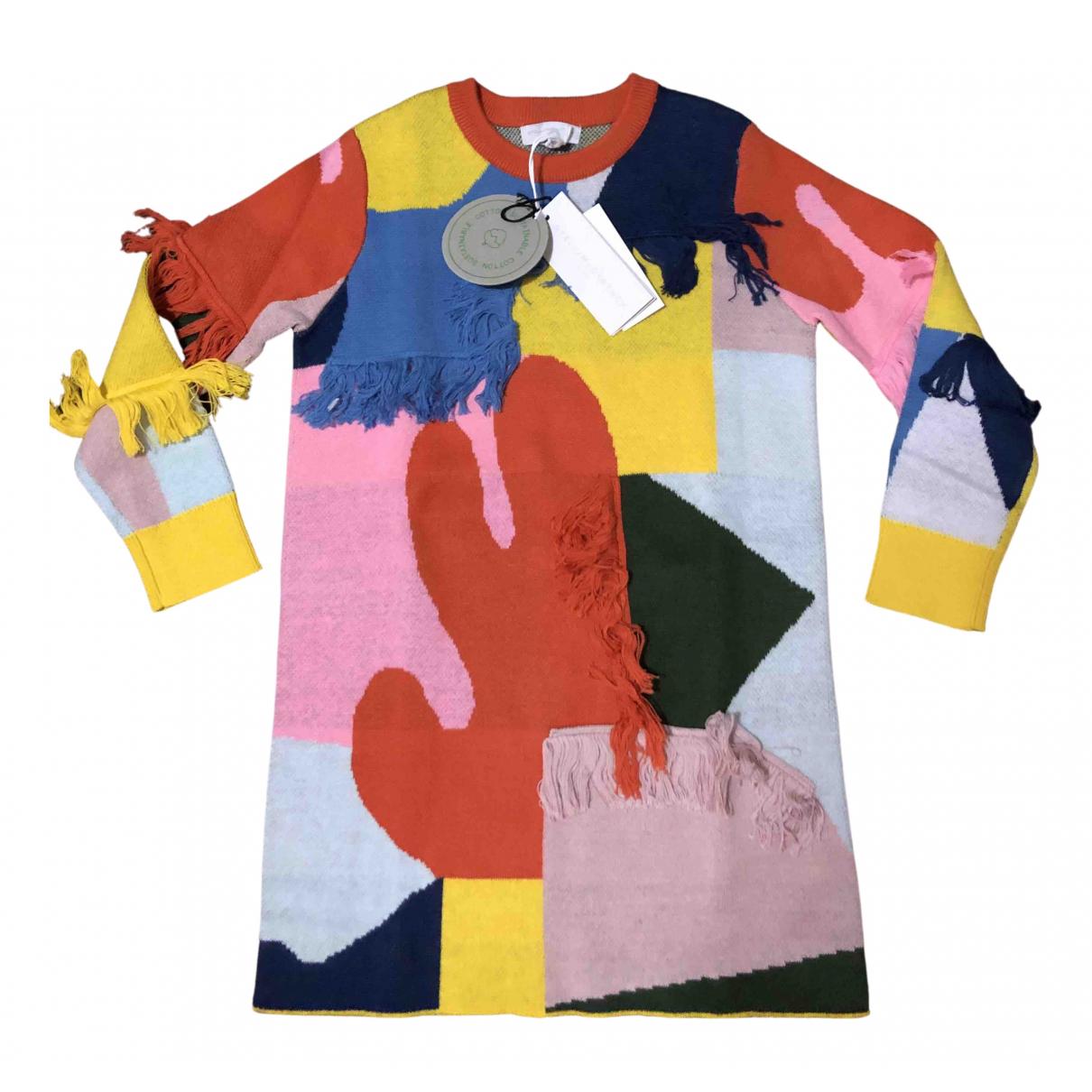 Stella Mccartney - Robe    pour enfant en coton - multicolore