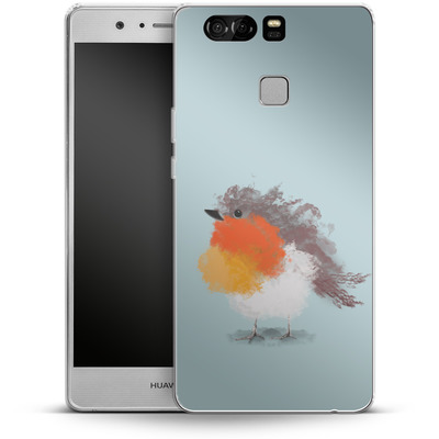 Huawei P9 Silikon Handyhuelle - Cloudy Robin von caseable Designs