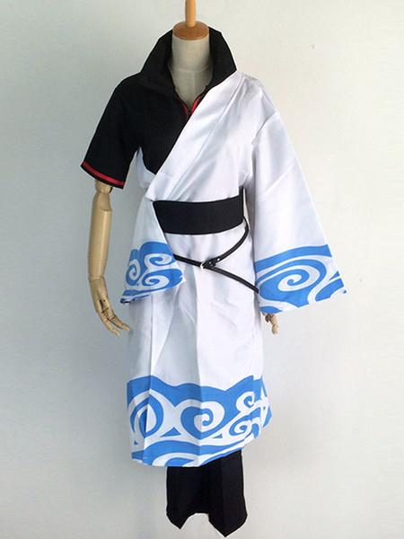 Milanoo Halloween Traje de Sakata Gintoki para cosplay de Gintama