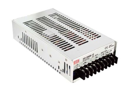 Mean Well 200W Isolated DC-DC Converter Chassis Mount, Voltage in 19 → 36 V dc, Voltage out 24V dc