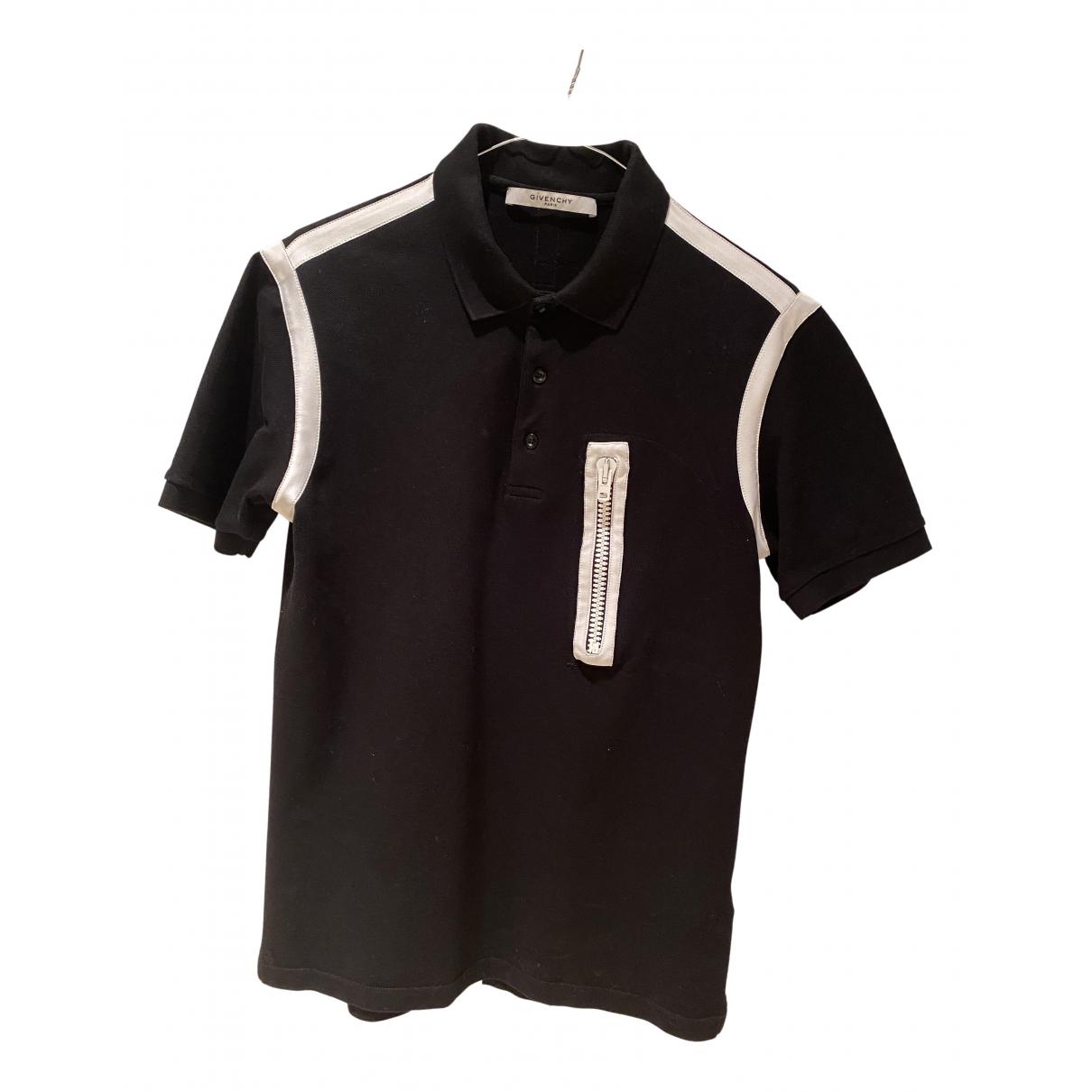 Givenchy \N Poloshirts in  Schwarz Baumwolle