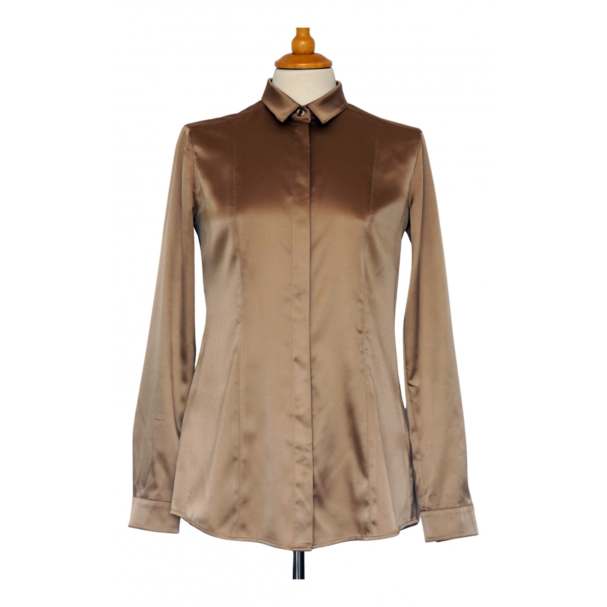 Burberry - Top   pour femme - beige