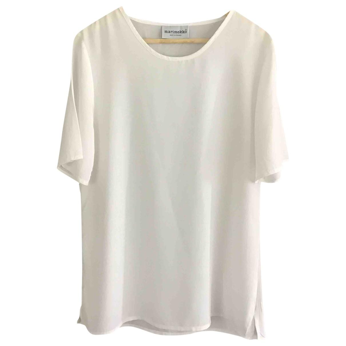 Marimekko - Top   pour femme - blanc