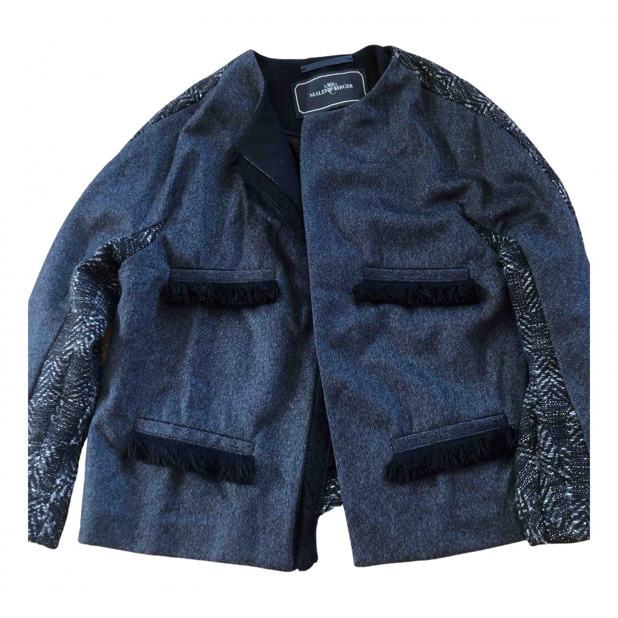 By Malene Birger N Grey Wool jacket for Women 38 FR