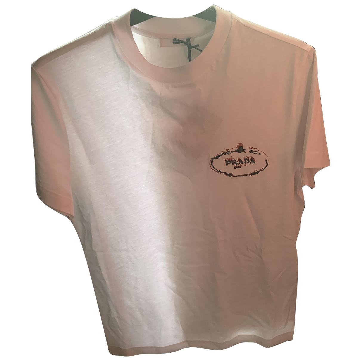 Prada \N White Cotton T-shirts for Men XS International