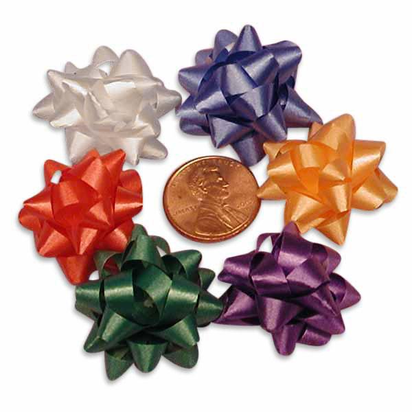 Satin Assorted Mini Confetti Bows 1