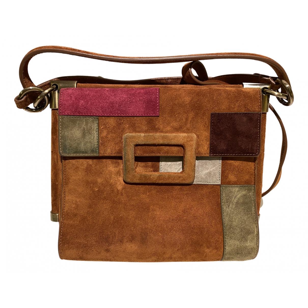 Roger Vivier Mini sac viv sellier Multicolour Suede handbag for Women \N