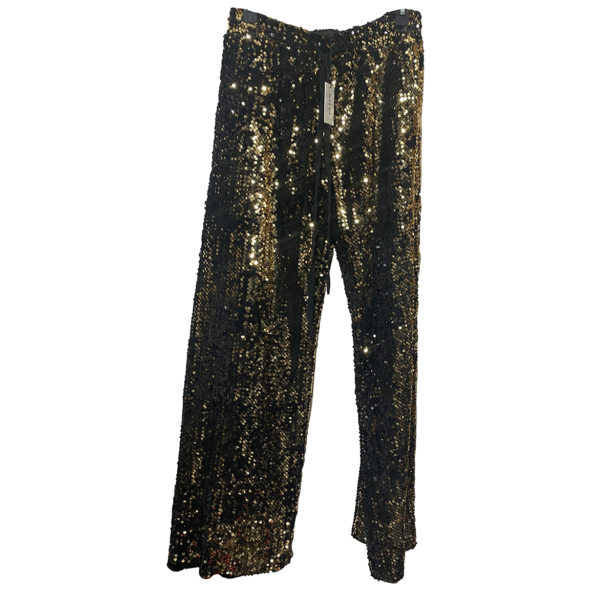 Milly \N Gold Trousers for Women S International