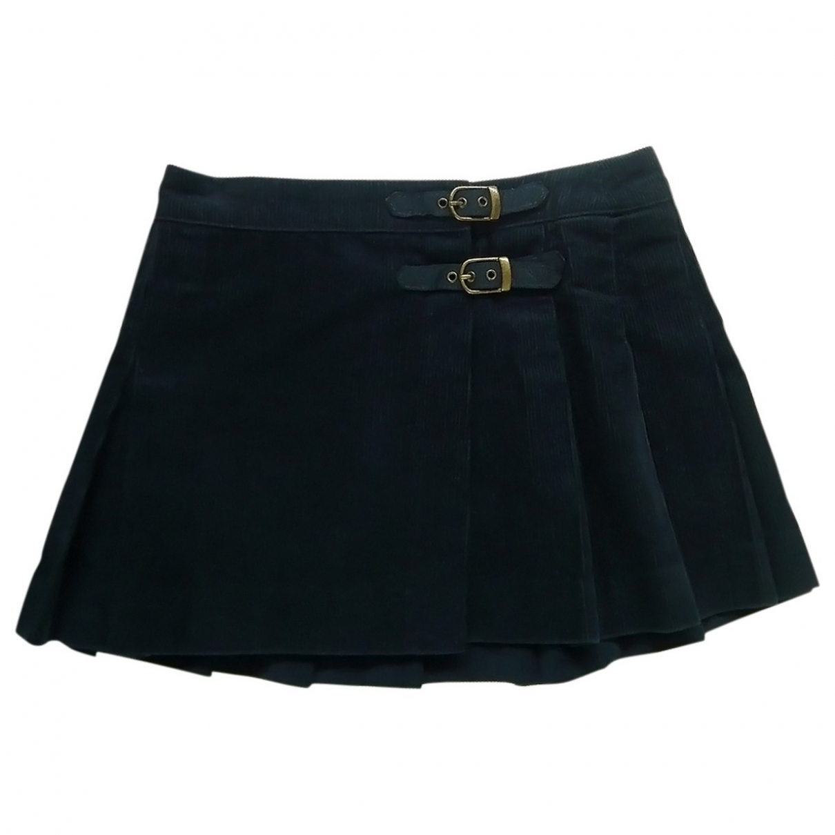 Mini falda de Terciopelo Polo Ralph Lauren