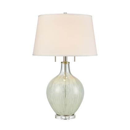 D4285 Storms End 2-Light Table Lamp  In Clear And