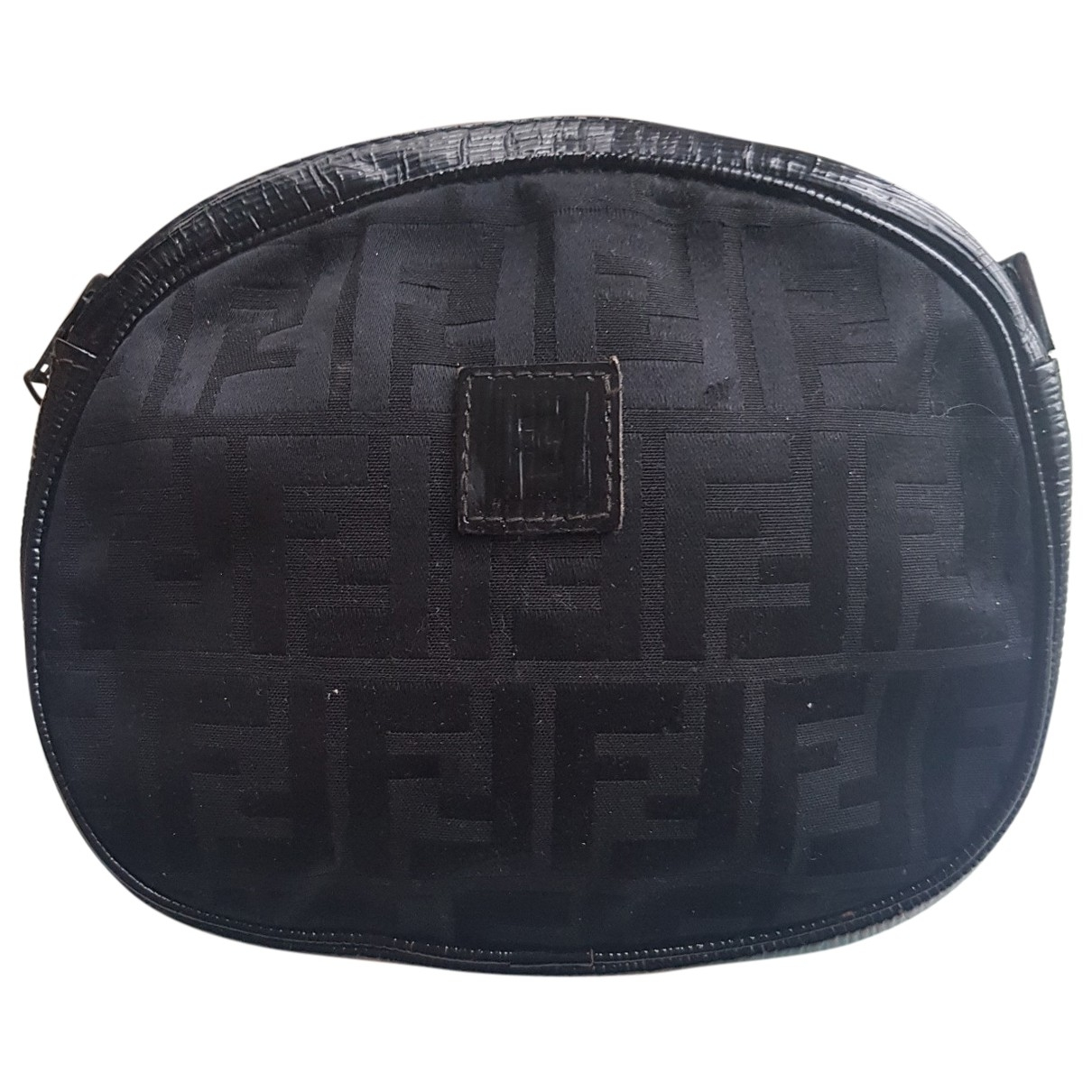 Fendi \N Black Cloth Clutch bag for Women \N