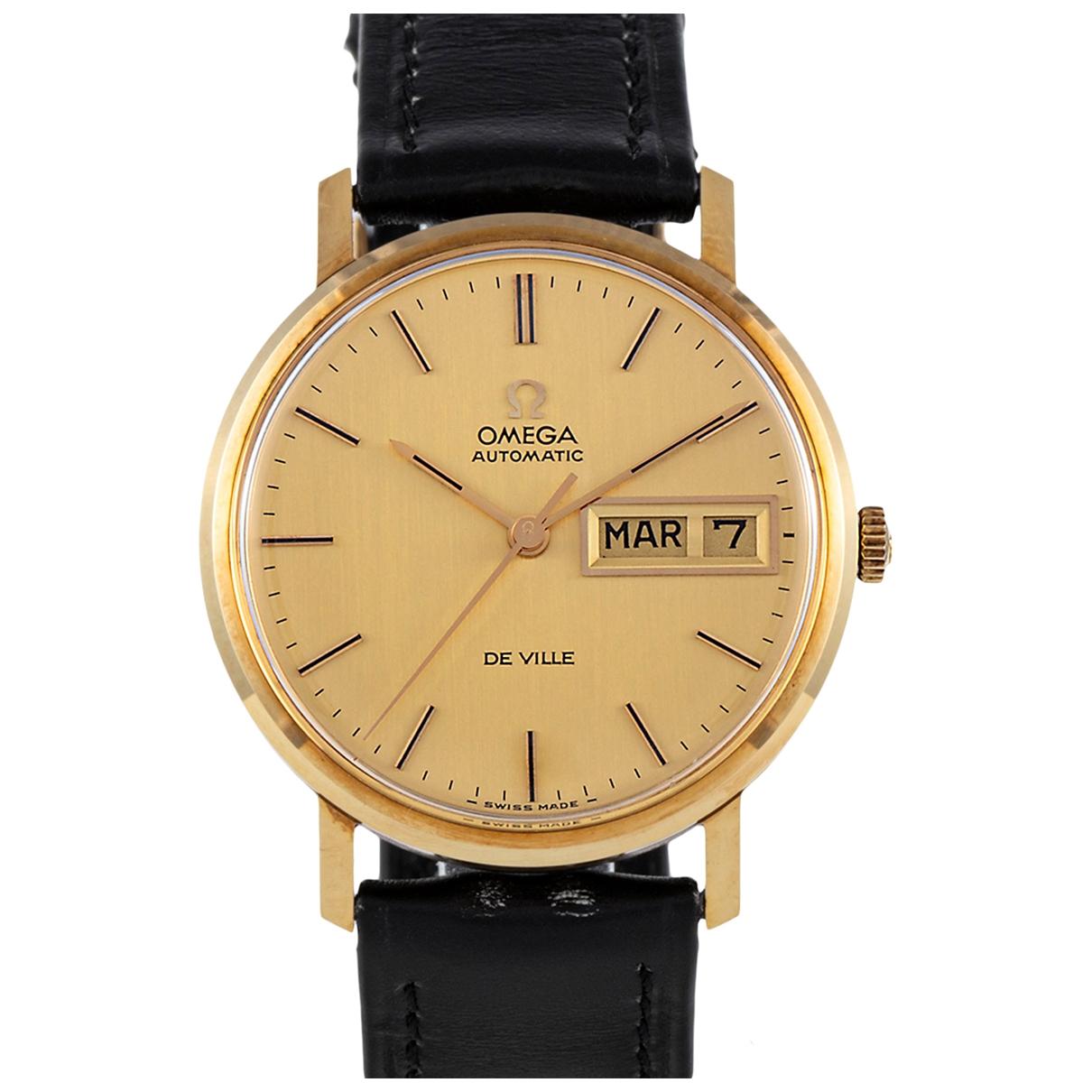 Omega De Ville  Uhr in  Gold Gelbgold