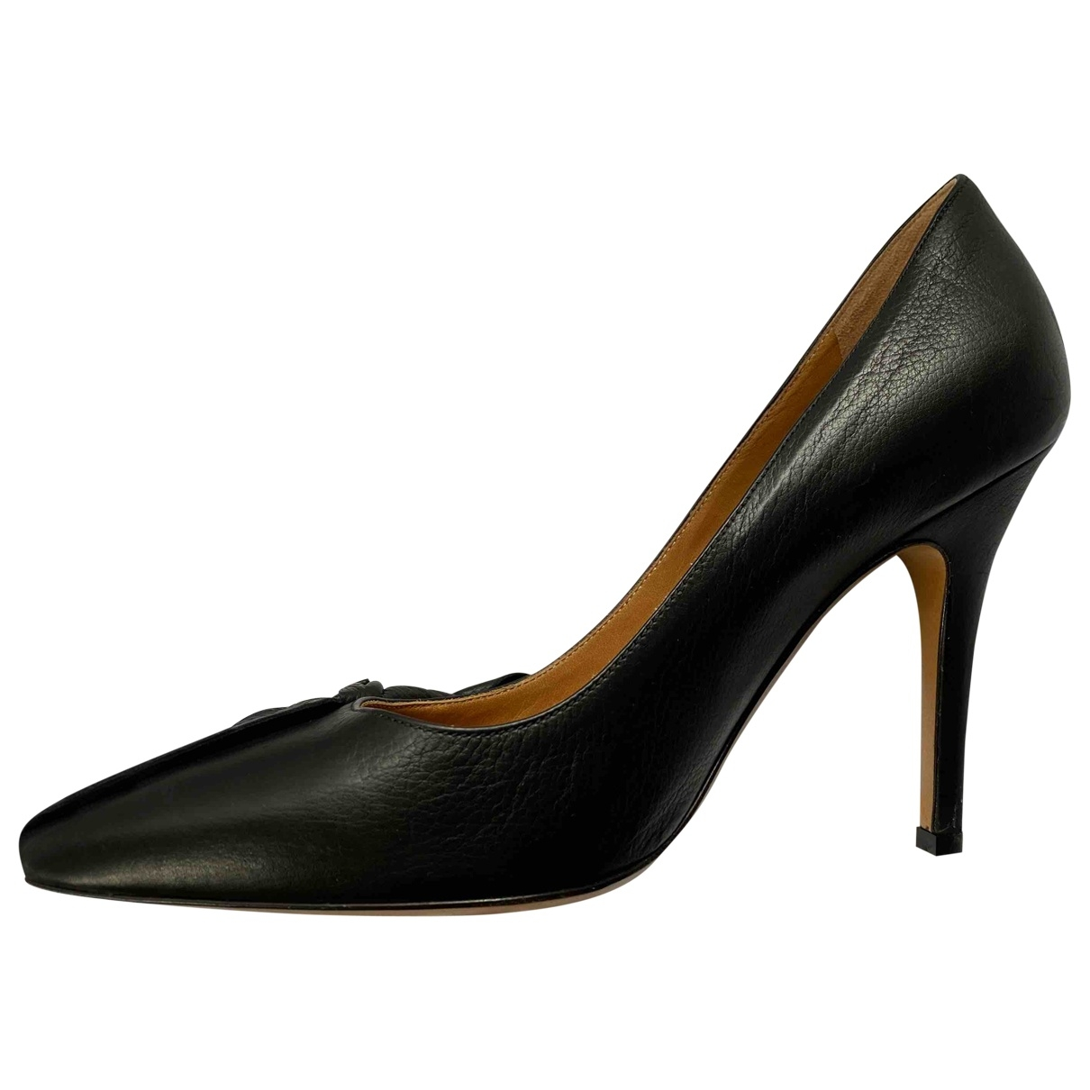 Isabel Marant \N Black Leather Heels for Women 38 EU