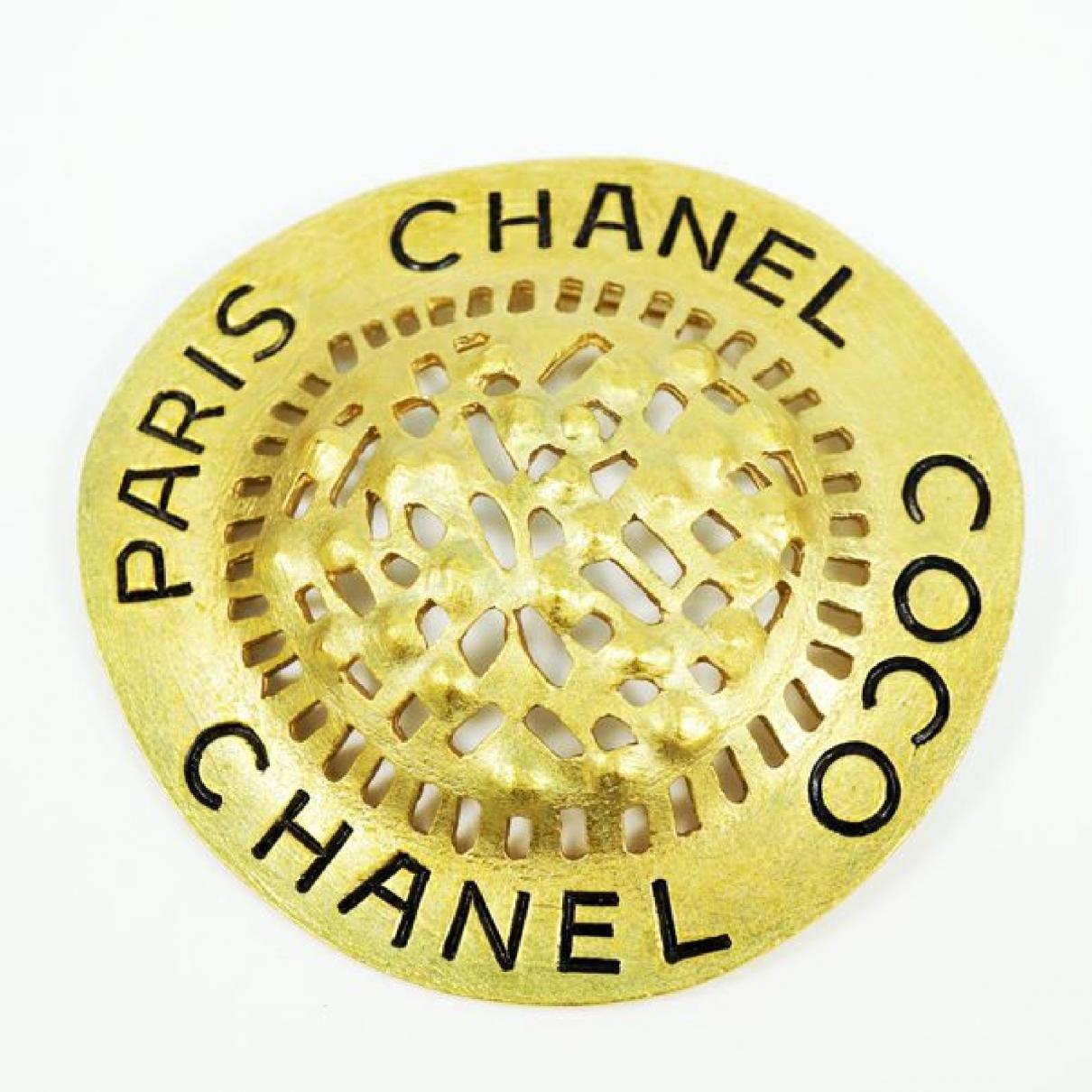 Broche en Chapado en oro Chanel