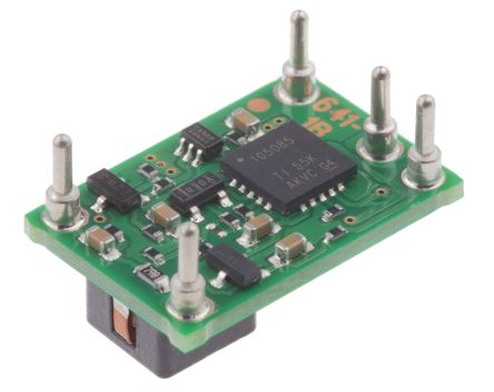 Texas Instruments , PTN78000WAH Step-Down Switching Regulator, 1-Channel 1.5A 5-Pin, DIP Module
