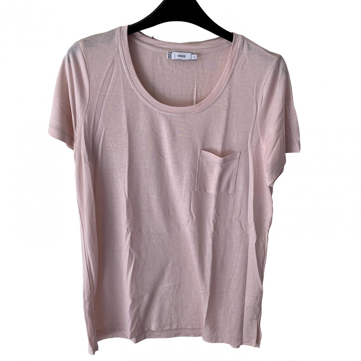 Vince \N Pink Silk  top for Women S International