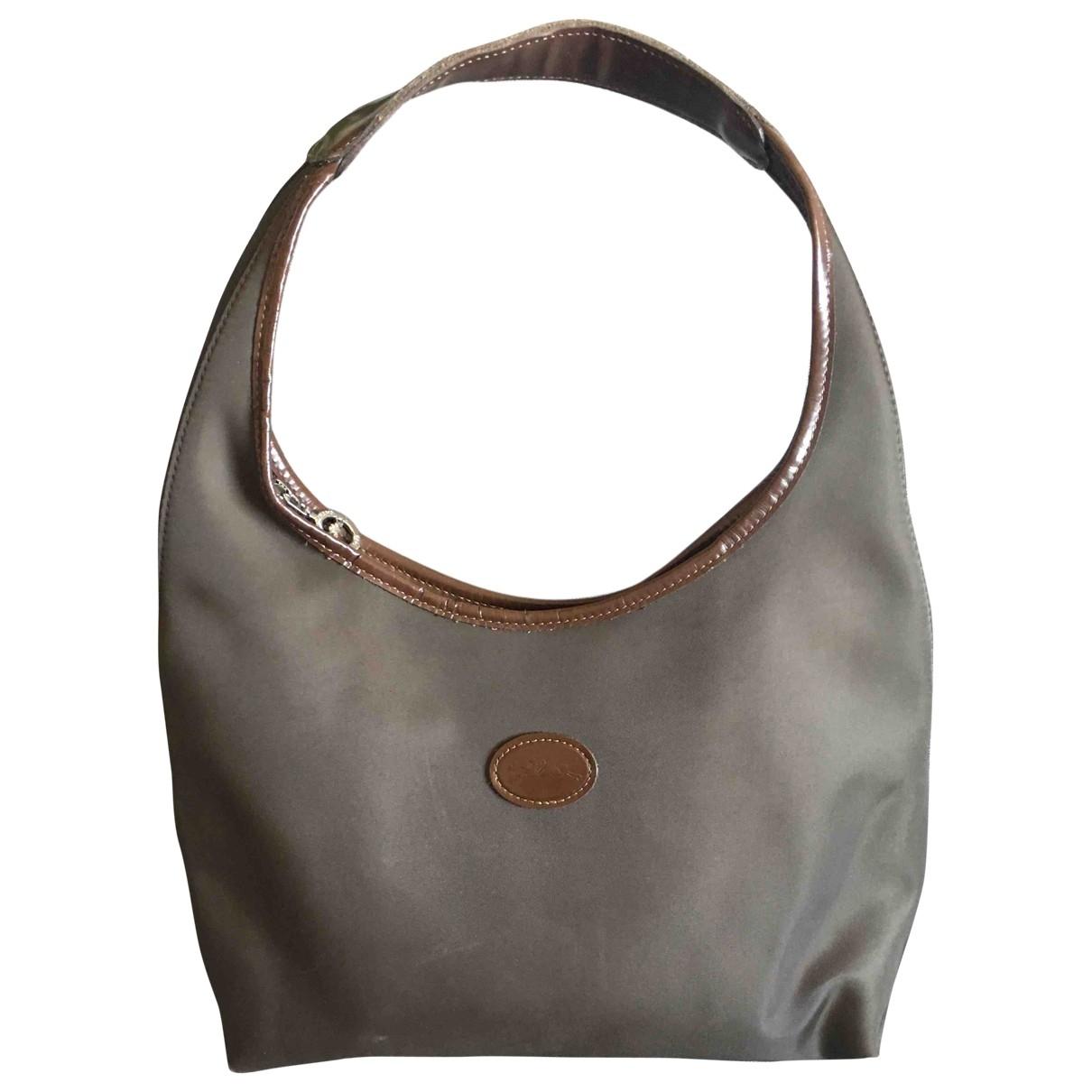 Longchamp \N Brown Cloth handbag for Women \N