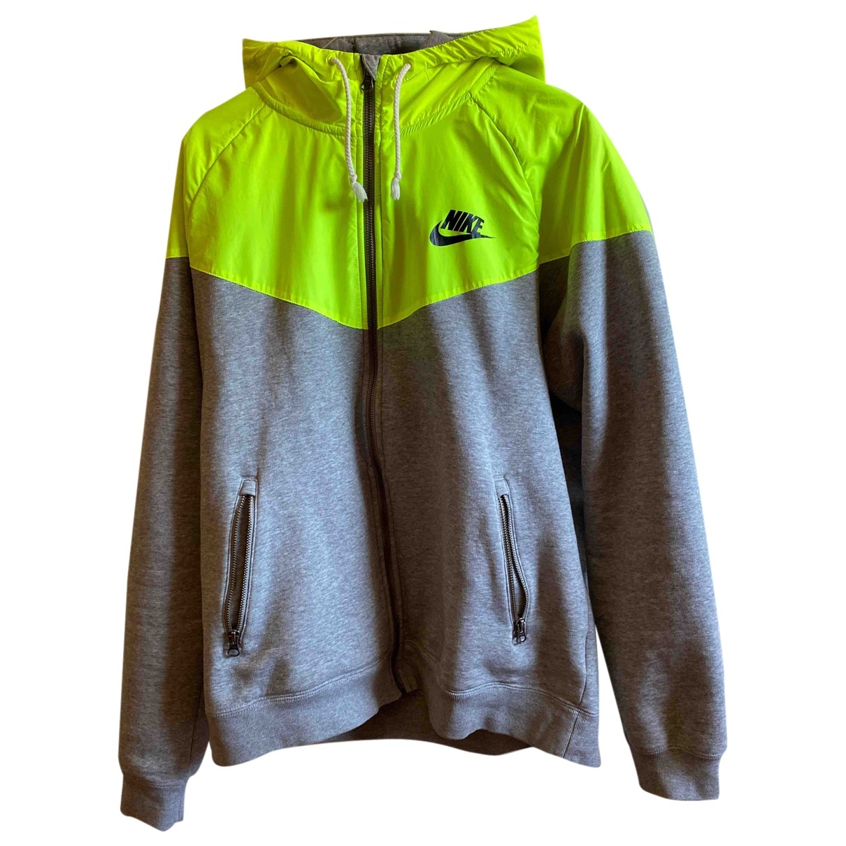 Nike \N Yellow Cotton Knitwear & Sweatshirts for Men L International