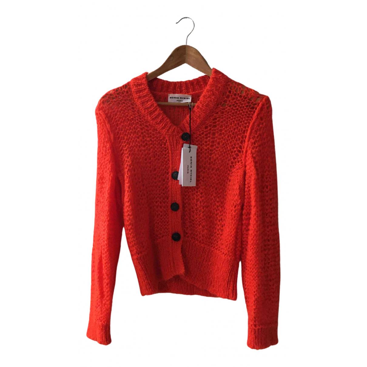 Sonia Rykiel - Pull   pour femme en laine - orange