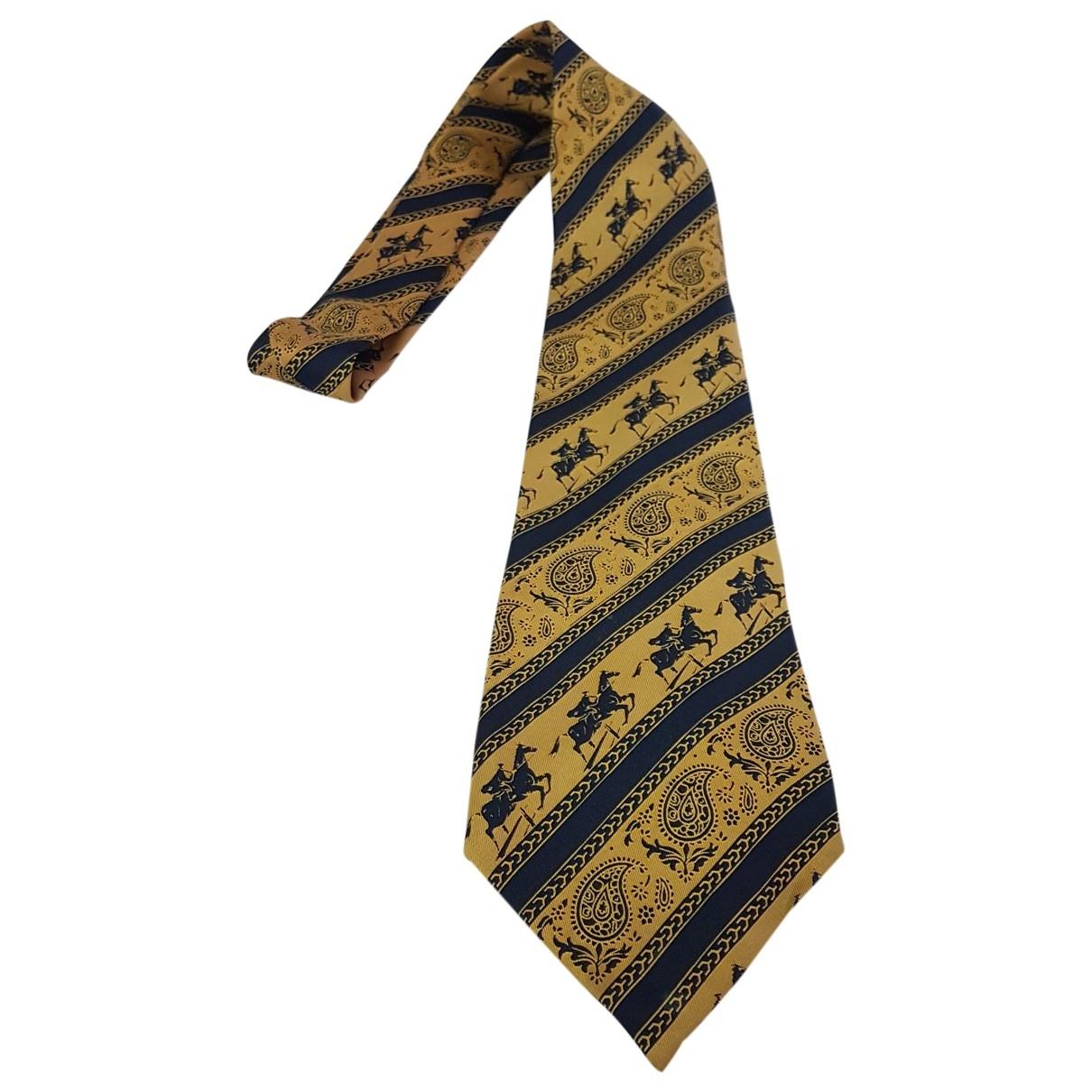 Loewe \N Krawatten in  Gelb Seide