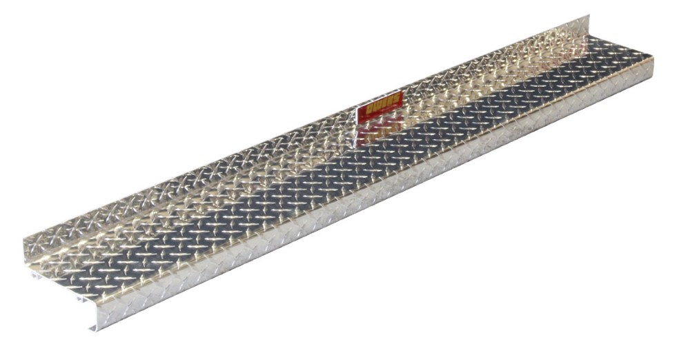 Owens Products OC80100-8 Classic Series 8 Inch Universal Fit Extra-Wide Diamond Tread Running Boards Aluminum
