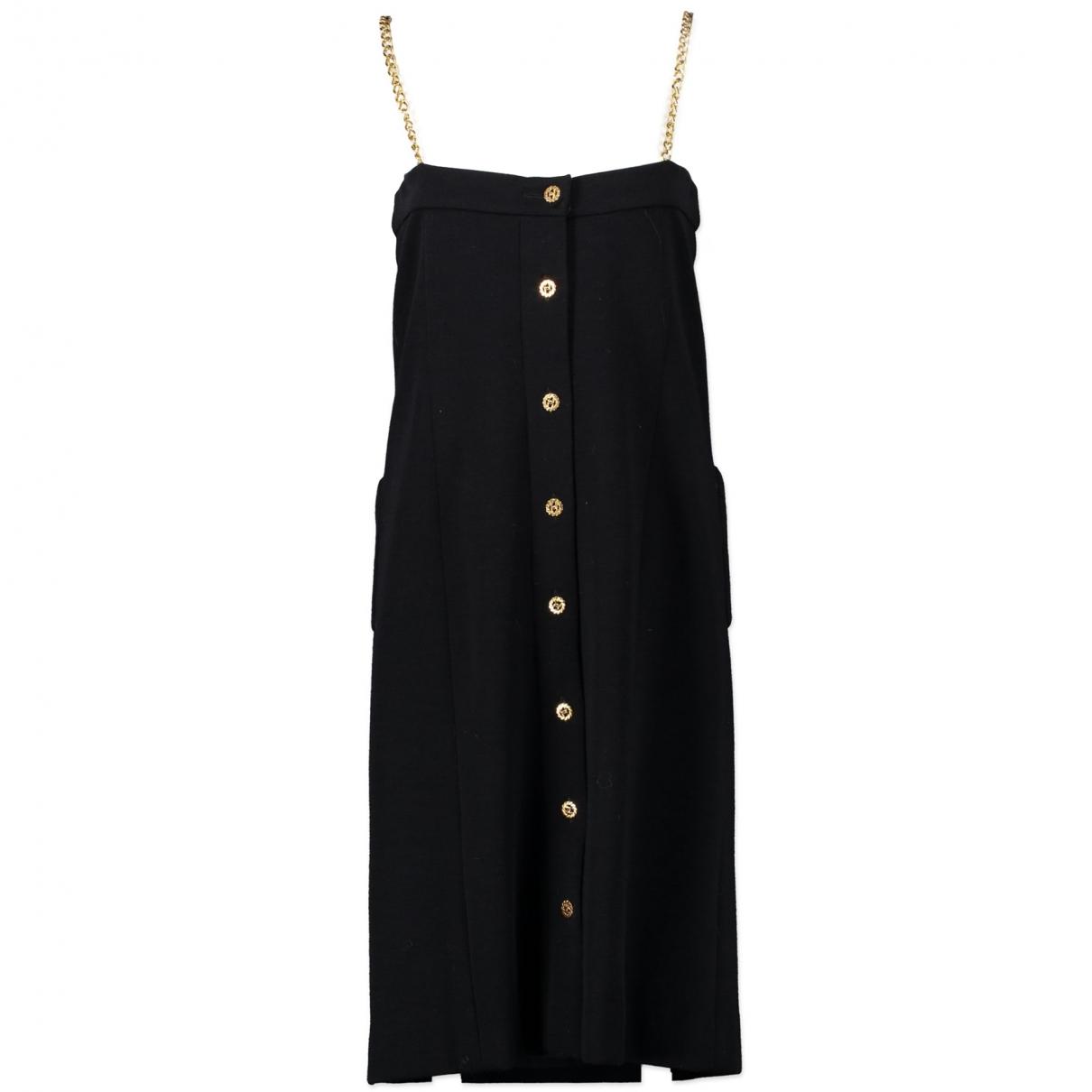 Chanel \N Kleid in  Blau Wolle