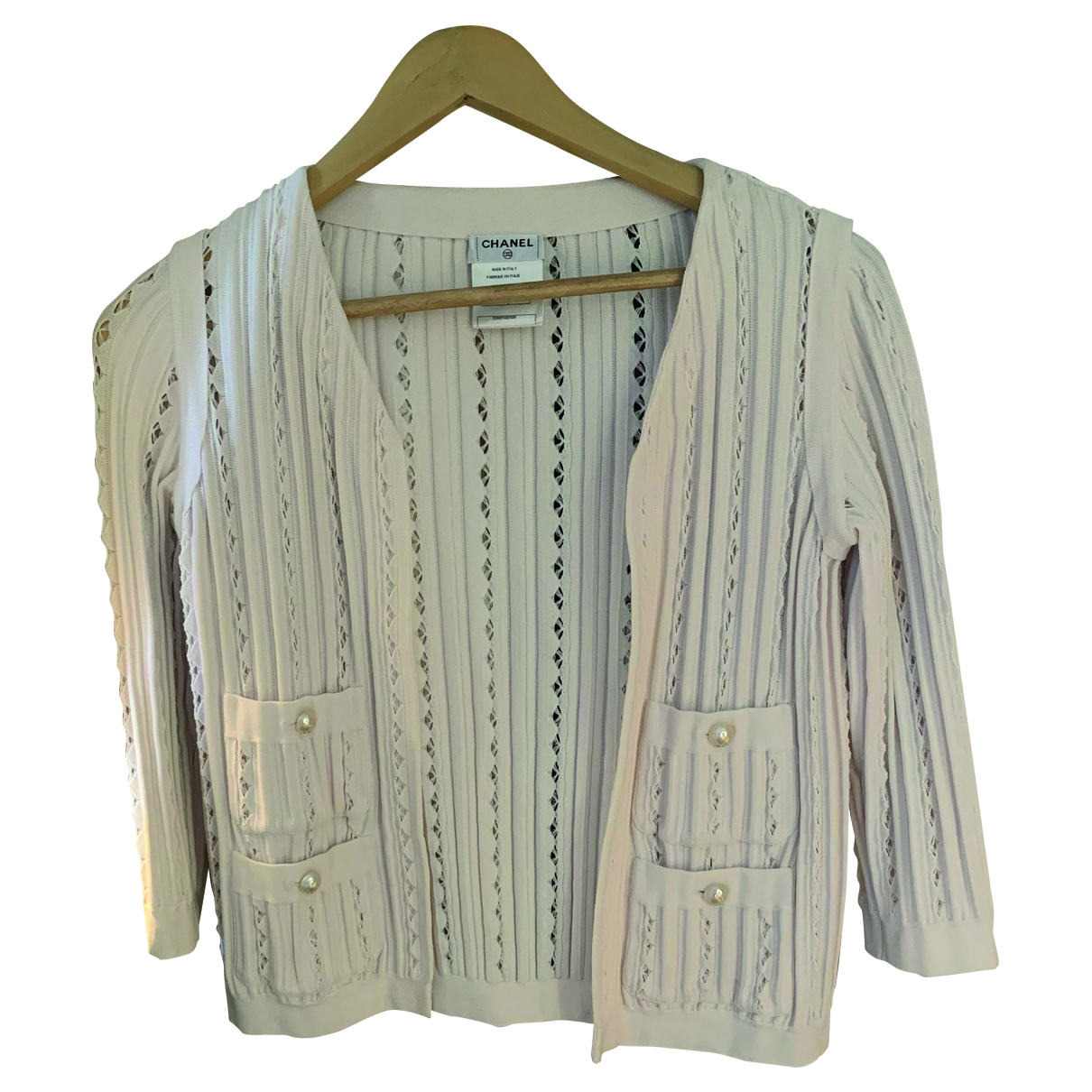 Chanel \N Beige Cotton jacket for Women 34 FR