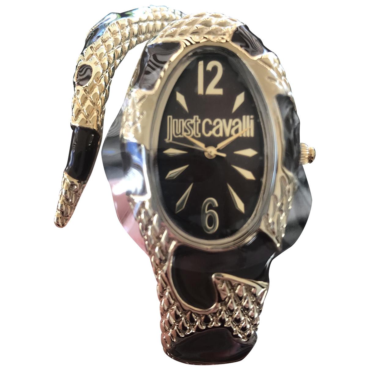Just Cavalli \N Gold Steel watch for Women \N