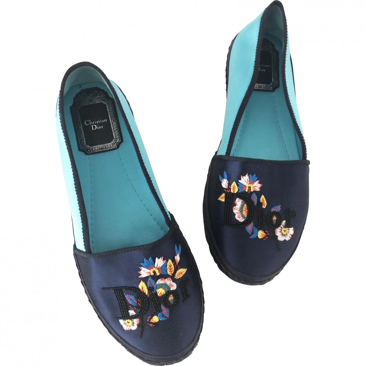 Dior \N Blue Cloth Espadrilles for Women 35.5 EU